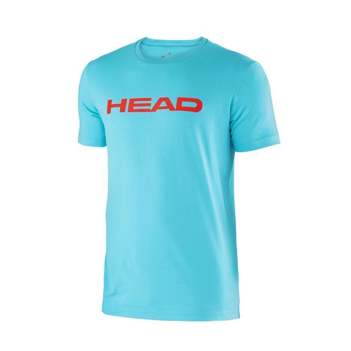 HEAD Transition Ivan T-Shirt Men aqua-flame