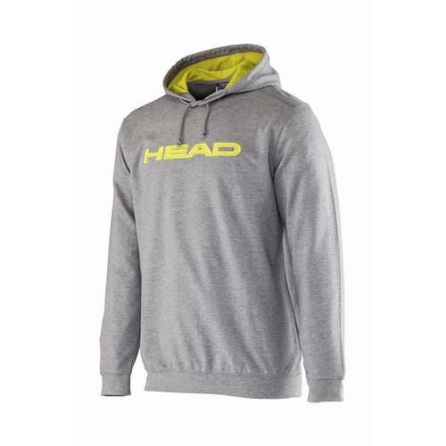 HEAD Byron Hoody Men grey-lime
