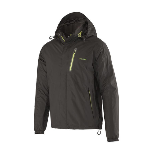 HEAD All Season Coach Rain Jacket Men black