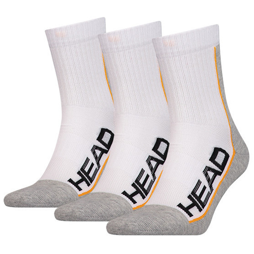 HEAD Socken Performance Short Crew 3er Pack weiß 43 - 46