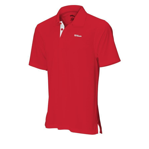 Wilson Body Mapping Polo Men red