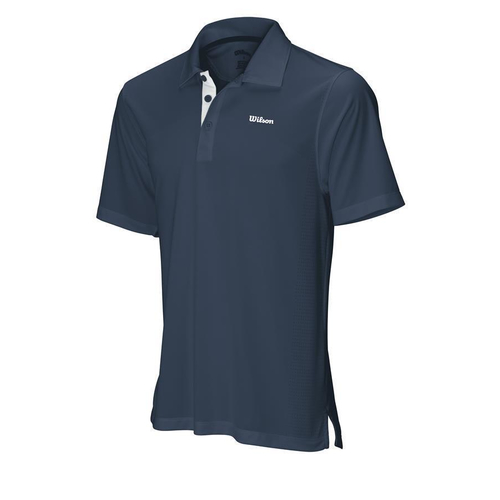 Wilson Body Mapping Polo Men navy