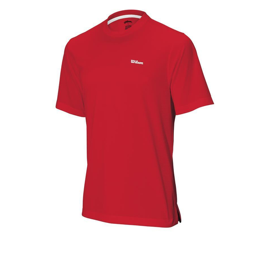 Wilson Body Mapping Crew T-Shirt Men red