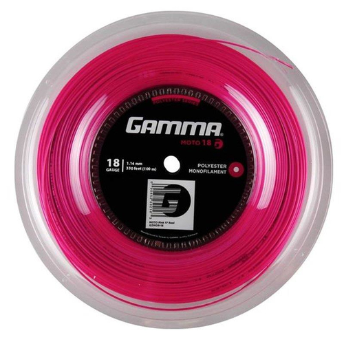 Gamma Moto ( 100m Rolle ) schwarz, lime, pink od. rot