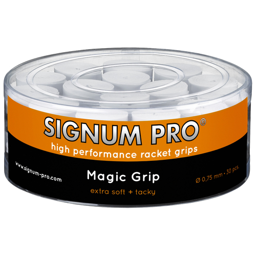 SIGNUM PRO Magic Grip OVERGRIP ( 30er Box ) weiß