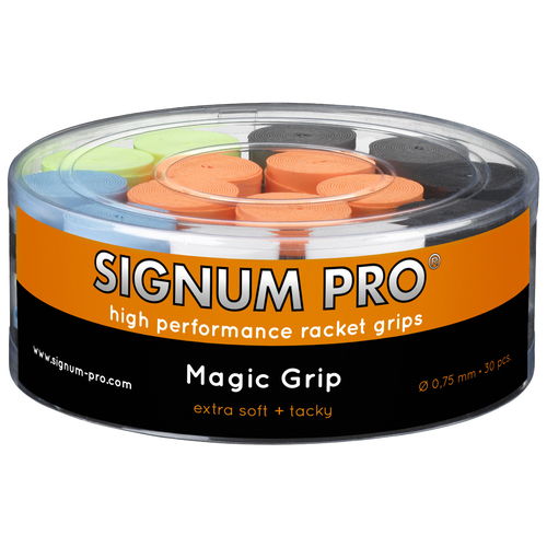 SIGNUM PRO Magic Grip OVERGRIP ( 30er Box ) bunt