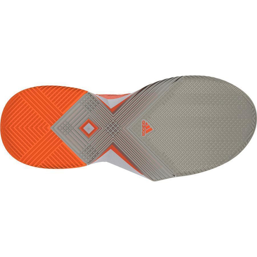 Adidas Adizero Ubersonic 3 All Court Women  orange-coral-weiß
