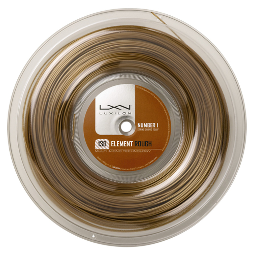 Luxilon Element Rough ( 200m Rolle ) bronze