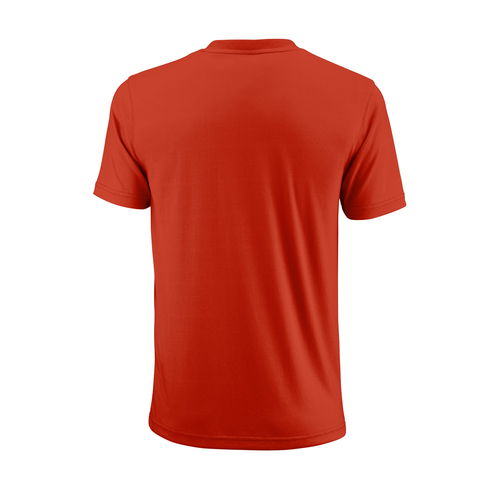 Wilson UwII Script Tech T-Shirt Men pro staff red-clear