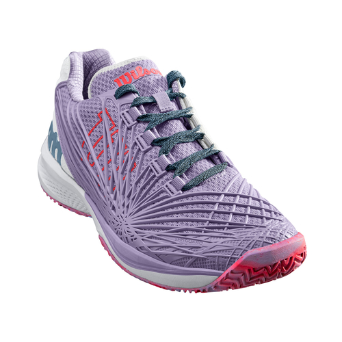 Wilson Kaos 2.0 Women All Court  pastel lilac-white-fiery coral 40 1/3