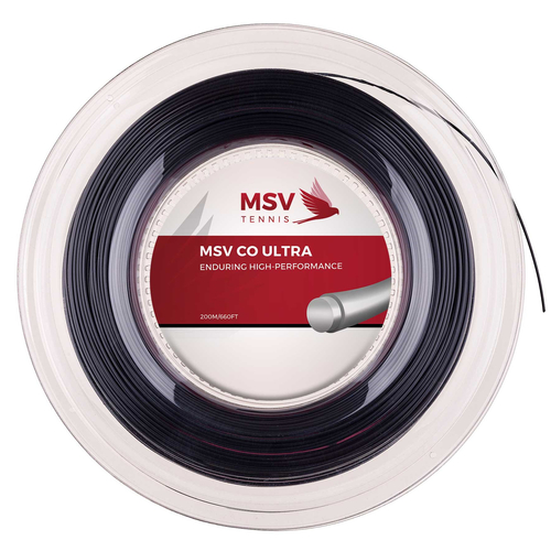 MSV CO ULTRA ( 200m Rolle ) schwarz