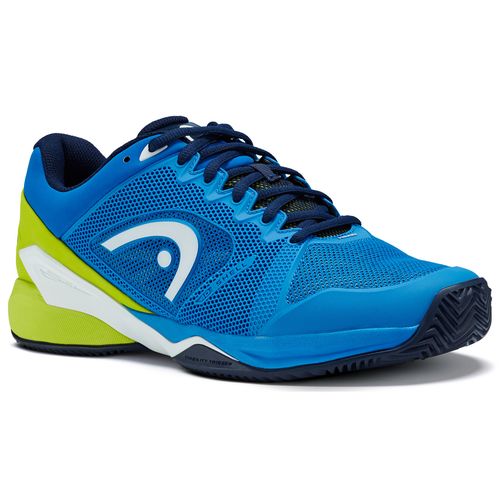 HEAD Revolt Pro 2.5 Men Clay Court 2018  blue-apple green 41