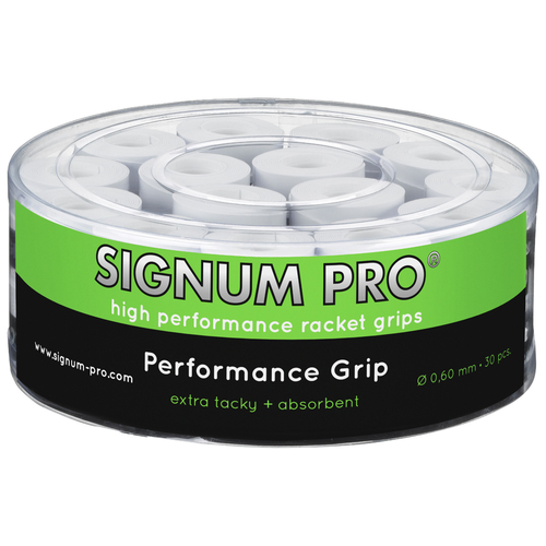 SIGNUM PRO Performance Grip OVERGRIP ( 30er Box ) weiß