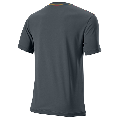 Wilson UwII Vignette Crew T-Shirt Men dark grey L