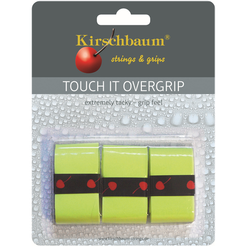 Kirschbaum TOUCH IT Overgrip ( 3er Pack ) gelb