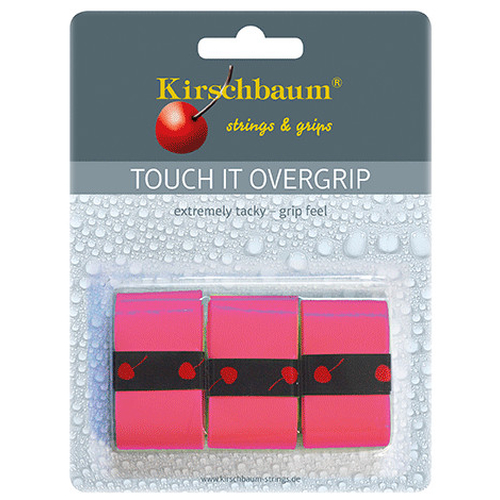 Kirschbaum TOUCH IT Overgrip ( 3er Pack ) pink