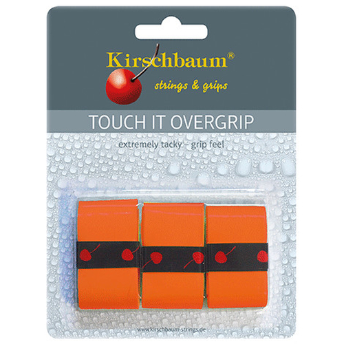 Kirschbaum TOUCH IT Overgrip ( 3er Pack ) orange
