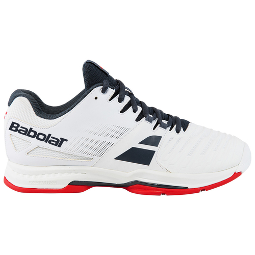 Babolat SFX 2 Men All Court 2018  weiß-grau-rot 42