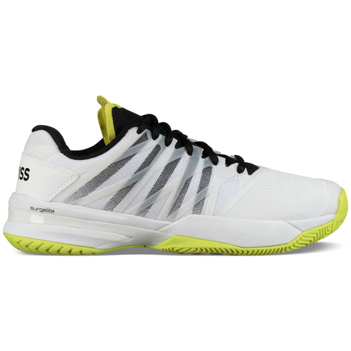 K-Swiss Ultrashot 2 HB Men Clay Court white-neon yellow-black