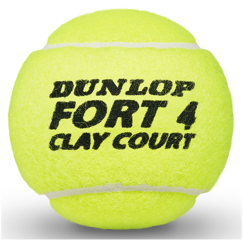 Dunlop Fort Clay Court 4er Dose