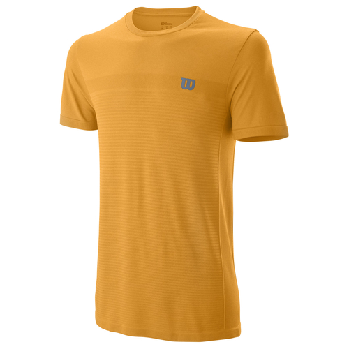 Wilson Competition Seamless Crew T-Shirt Men blazing orange-mandarin