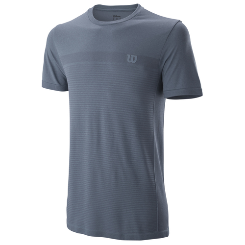 Wilson Competition Seamless Crew T-Shirt Men flint-ebony