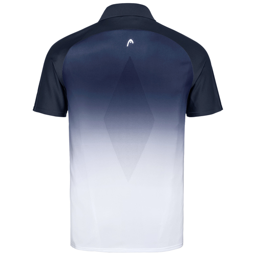 HEAD Performance Polo-Shirt Men dark blue-infinity blue