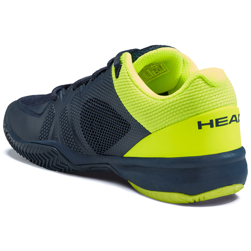 HEAD Revolt Pro 2.5 Junior All Court dark blue-neon yellow 40