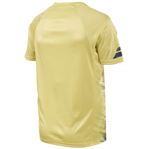 Babolat Performance Crew Neck T-Shirt Men dark yellow-black