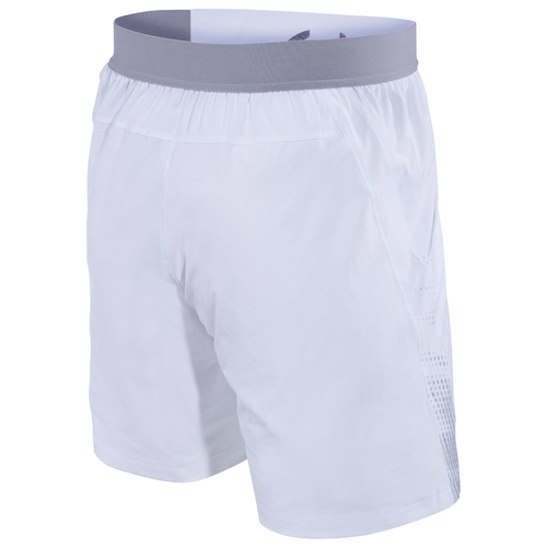 Babolat Performance 7 Short Men white-silver