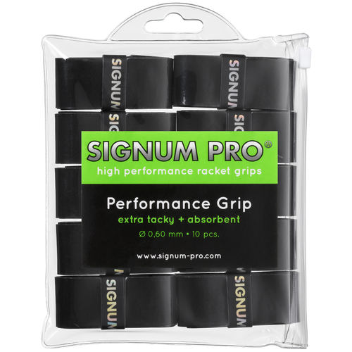 SIGNUM PRO Performance Grip OVERGRIP ( 10er Pack ) schwarz