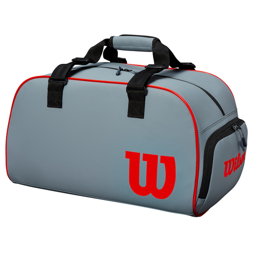 Wilson Clash Duffle Bag Small grey-black-infra red 2019