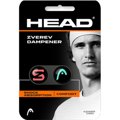 HEAD Zverev Damp 2er Pack teal / hot lava