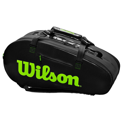 Wilson Super Tour 2 Comp Large black/green 2019