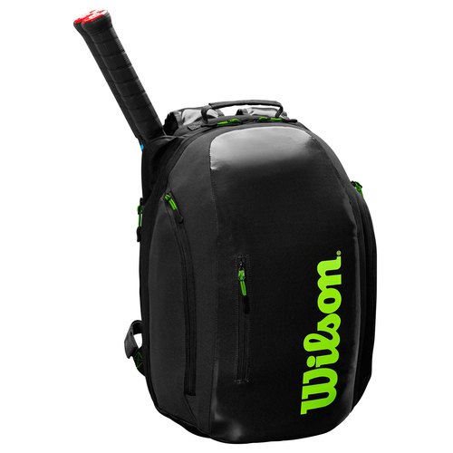 Wilson Super Tour Backpack black/green 2019