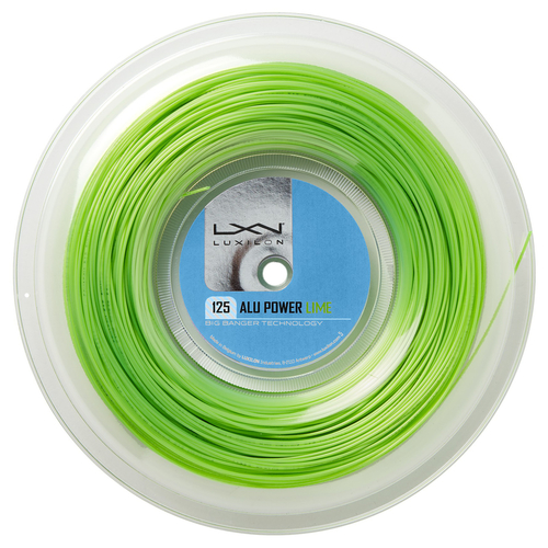 LUXILON Big Banger Alu Power ( 200m Rolle ) limegreen