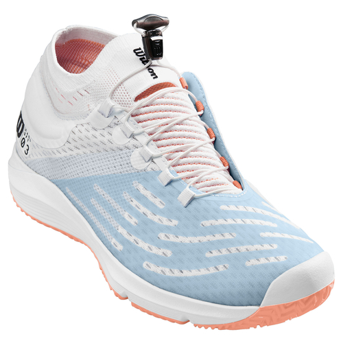 Wilson Kaos 3.0 SFT Women All Court white-white-papaya punch