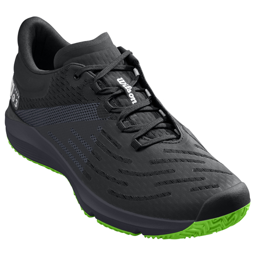 Wilson Kaos 3.0 Men All Court black-ebony-blade green 45 1/3