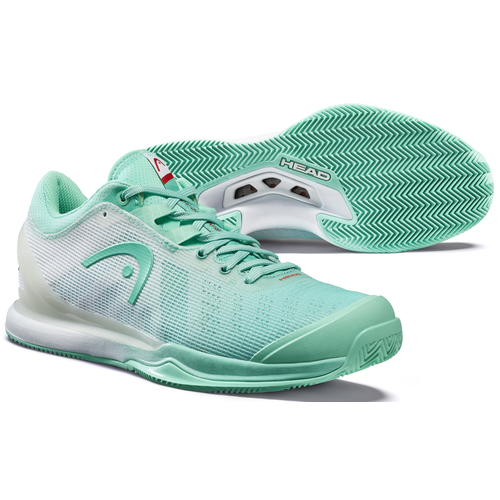 HEAD Sprint Pro 3.0 Women Clay Court 2020 teal-white 40