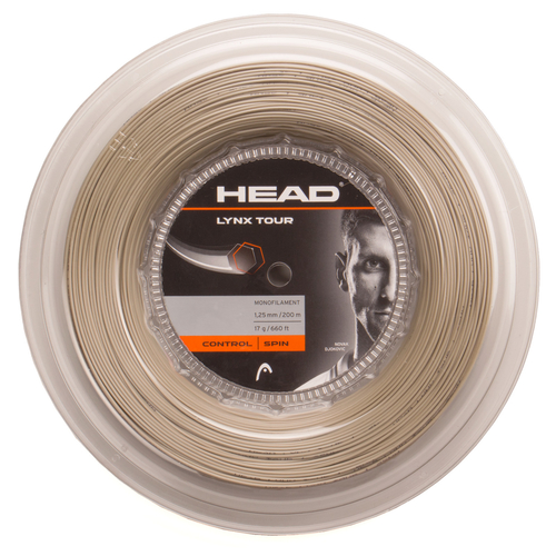 HEAD Lynx Tour ( 200m Rolle ) champagne