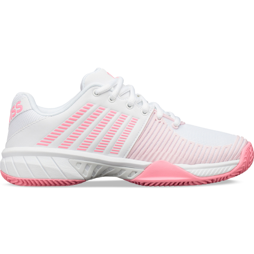 K-Swiss Express Light 2 HB Women Clay Court white-soft neon pink-blushing bride