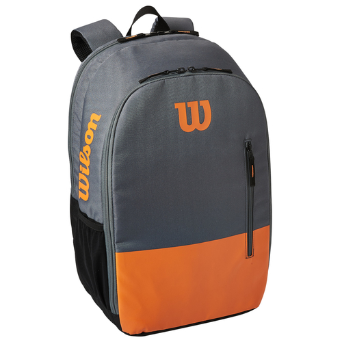 Wilson Burn Team Backpack grey-orange 2020