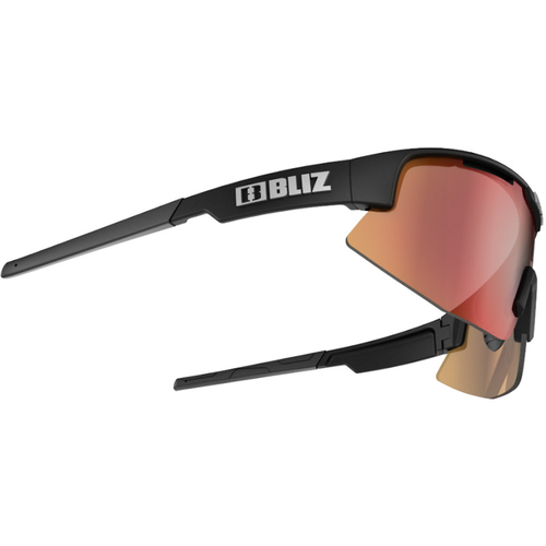 Bliz Matrix Matt Black / Brown-Red Multi