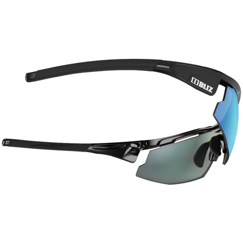 Bliz Sprint Matt Black / Shiny Black / Smoke-Blue Multi