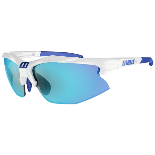 Bliz Hybrid Small White / Smoke-Blue Multi
