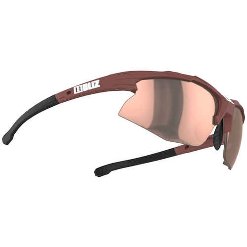 Bliz Hybrid Small Matt Wine Red / Brown-Rose Multi