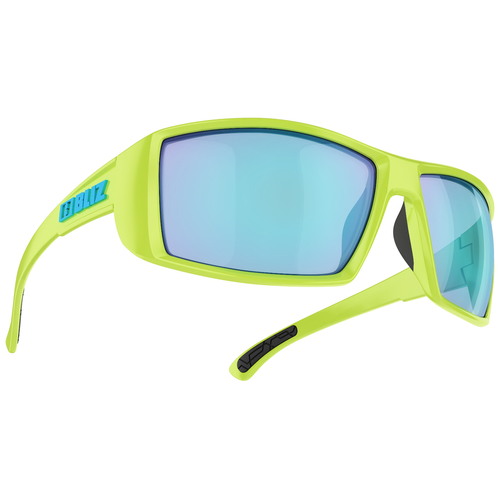 Bliz Drift Matt Lime Green / Smoke-Blue Multi