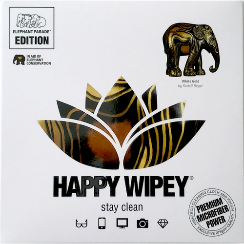 Happy Wipey WHITE GOLD - Rudolf Beger