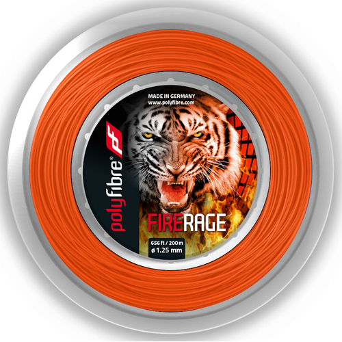 POLYFIBRE Fire Rage ( 200m Rolle ) orange