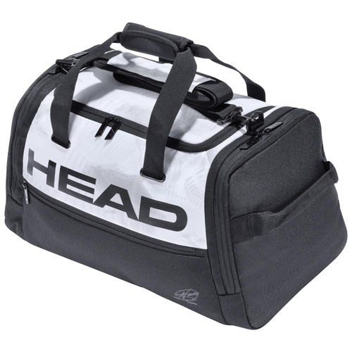 HEAD Djokovic Duffle Bag white/black 2021